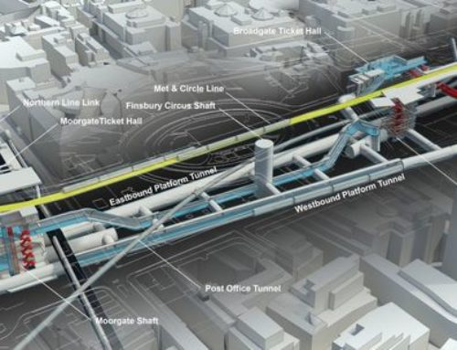 Crossrail Takes Us Under The City